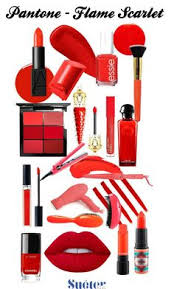 Pantone Flame Make Up