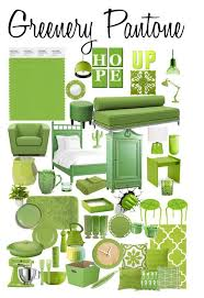Pantone Greenery Interieur