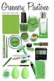 Pantone Greenery Make Up