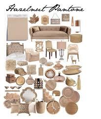 Pantone Hazelnut Interieur