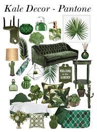 Pantone Kale 2017 interieur