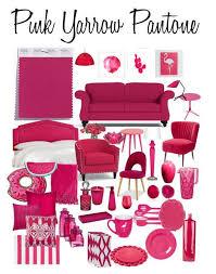 Pantone Pink Yarrow Interieur