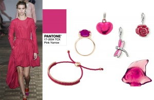 Pink Yarrow 2017 Juwelen