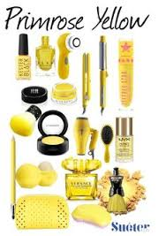 Pantone Primrose Yellow Make Up