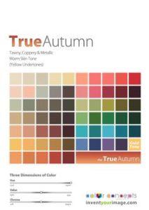 True or Deep Autumn Women